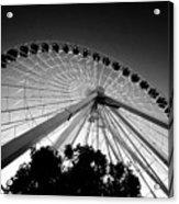 Ferris Wheel Acrylic Print by Leslie Leda