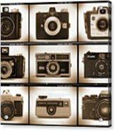 Film Camera Proofs 1 Acrylic Print by Mike McGlothlen