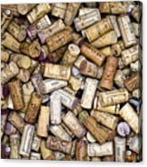 Fine Wine Corks Acrylic Print by Frank Tschakert
