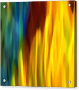 Fire And Water Acrylic Print by Amy Vangsgard