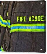 Fireman Jackets Acrylic Print by Skip Nall