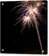 Fireworks   Acrylic Print by James BO  Insogna