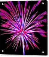 Fireworks Americana Acrylic Print by Steve Ohlsen