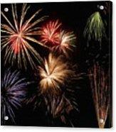 Fireworks Acrylic Print by Jeff Kolker