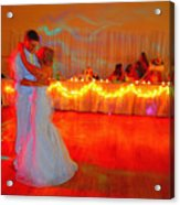 First Dance Acrylic Print by Jame Hayes