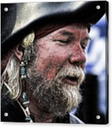 First Mate Acrylic Print by David Patterson