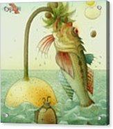 Fish Acrylic Print by Kestutis Kasparavicius