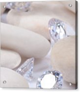 Flashing Diamond Acrylic Print by Atiketta Sangasaeng