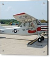Flight Line Acrylic Print by Jame Hayes