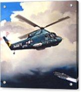 Flight Of The Seasprite Acrylic Print by Marc Stewart