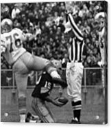 Football Game, 1965 Acrylic Print by Granger
