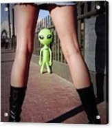 For Alien Eyes Only Acrylic Print by Richard Henne