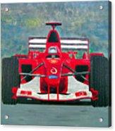 Formula 1 Acrylic Print by Ken Pursley