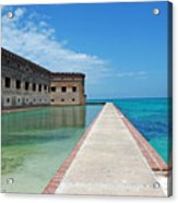 Fort Jefferson Dry Tortugas Acrylic Print by Susanne Van Hulst