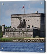 Fort Matanzas Acrylic Print by Skip Willits