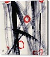 Four Hugs Acrylic Print by Mary Carol Williams