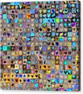 Four Hundred And One Hearts Acrylic Print by Boy Sees Hearts
