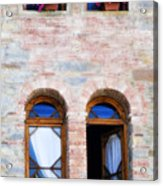 Four Windows Acrylic Print by Marilyn Hunt