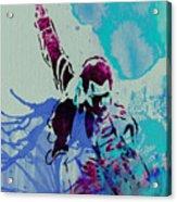 Freddie Mercury Acrylic Print by Naxart Studio