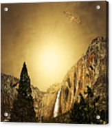 Free To Soar The Boundless Sky Acrylic Print by Wingsdomain Art and Photography