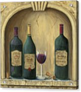 French Estate Wine Collection Acrylic Print by Marilyn Dunlap