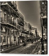 French Quarter Ride Acrylic Print by Greg and Chrystal Mimbs