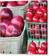 Fresh Market Fruit Acrylic Print by Jeff Kolker
