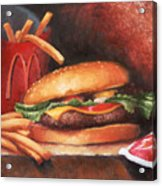 Fries With That Acrylic Print by Timothy Jones