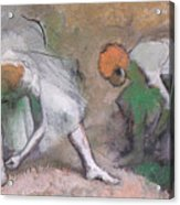 Frieze Of Dancers Acrylic Print by Edgar Degas