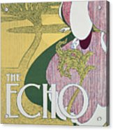 Front Cover Of The Echo Acrylic Print by William Bradley
