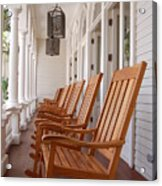 Front Porch Acrylic Print by Kelly Wade