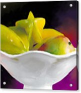 Fruit Bowl Acrylic Print by Michelle Wiarda