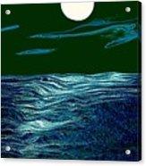 Full Moon 3 Acrylic Print by Mimo Krouzian
