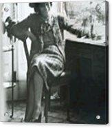 Gabrielle Coco Chanel, C. Mid 1960s Acrylic Print by Everett