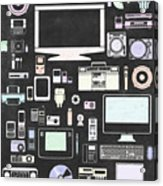 Gadgets Icon Acrylic Print by Setsiri Silapasuwanchai