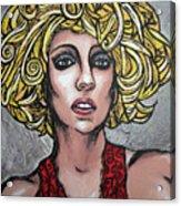 Gaga Acrylic Print by Sarah Crumpler