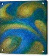 Galaxia Acrylic Print by Anita Burgermeister
