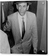 Gambling Boss Meyer Lansky 1902-1983 Acrylic Print by Everett