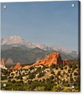 Garden Of The Gods Acrylic Print by Brian Harig