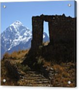 Gateway To The Gods 2 Acrylic Print by James Brunker