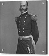 General Ambrose Everett Burnside Acrylic Print by War Is Hell Store