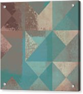 Geomix 03 - S123bc04t2a Acrylic Print by Variance Collections
