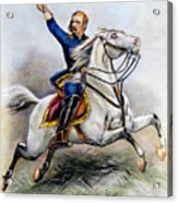 George Armstrong Custer Acrylic Print by Granger