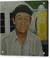 George Lindsey As Goober Acrylic Print by Tresa Crain