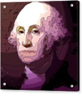 George Washington Acrylic Print by Tray Mead