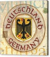 German Coat Of Arms Acrylic Print by Debbie DeWitt