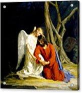 Gethsemane Acrylic Print by Carl Bloch