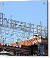 Ghirardelli Chocolate Factory San Francisco California . 7d13979 Acrylic Print by Wingsdomain Art and Photography