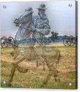 Ghost Of Gettysburg Acrylic Print by Randy Steele
