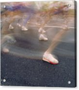 Ghost Race Acrylic Print by Gerard Fritz